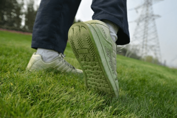 How to get grass stains out of shoes 1