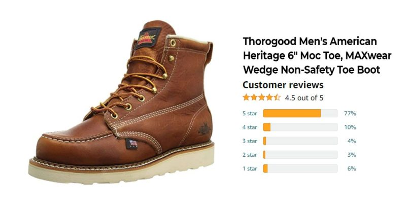 The Best 6-inch Work Boots in 2021: Reviews & Complete Guide With Top Picks 6